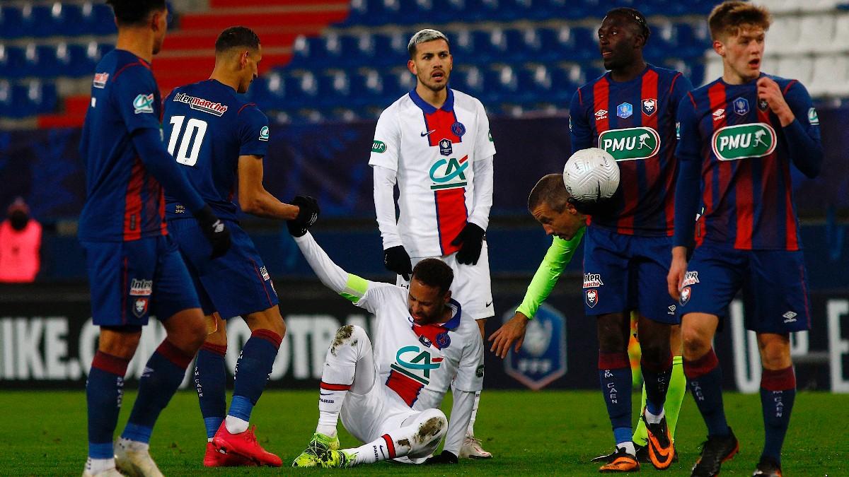 Neymar explotó en las redes sociales tras confirmarse su nueva lesión. (AFP)