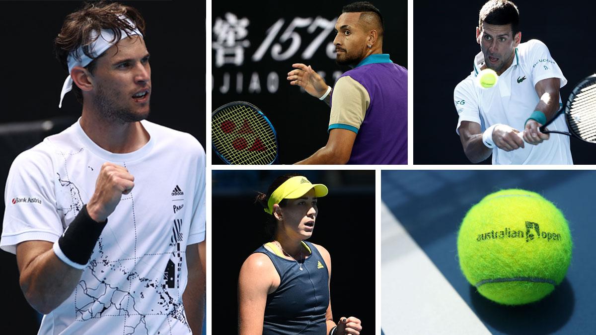 Open de Australia: partidos viernes 12