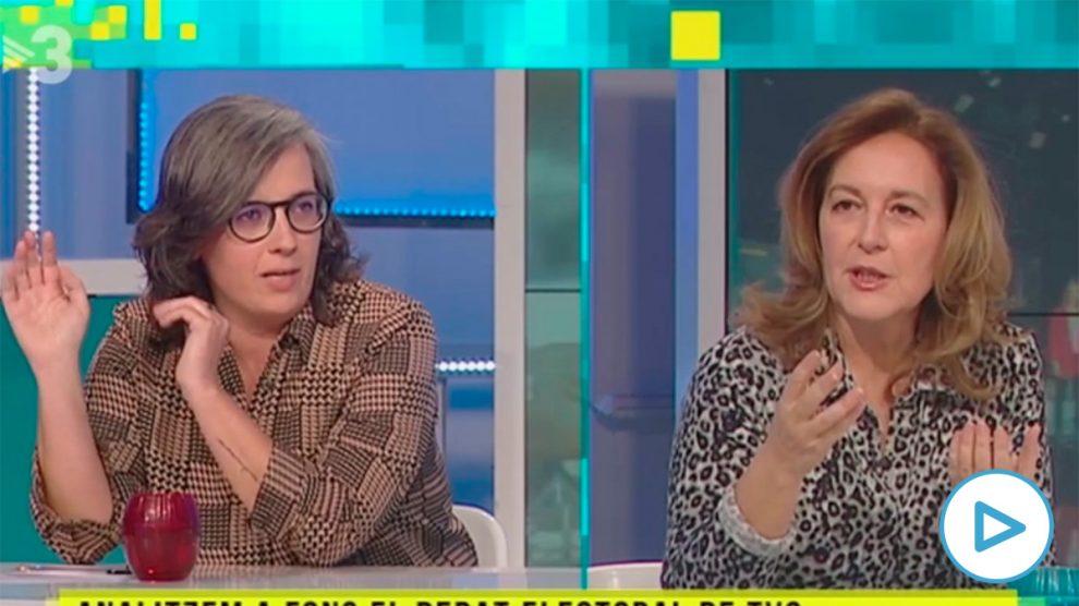 Una ex diputada de la CUP en TV3: «A Vox hay que borrarlos de las calles a pedradas». (Vídeo: 'Tot es Mou', de TV3).