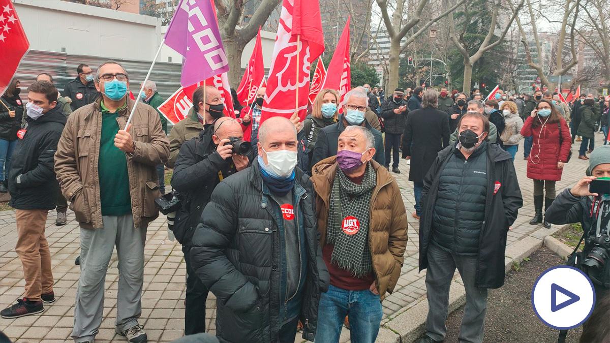 Los sindicatos protestan para pedir más subsidios con el déficit público en niveles sin precedentes