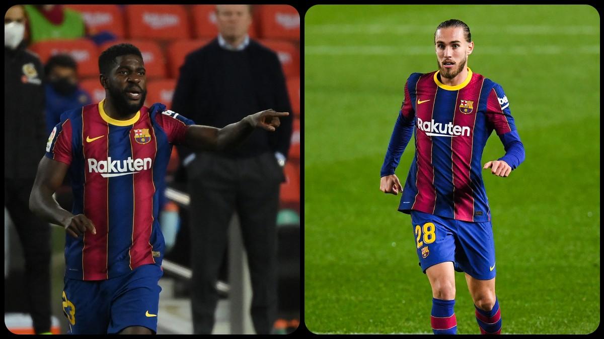 Umtiti y Mingueza da la razón al Barcelona. (Getty)