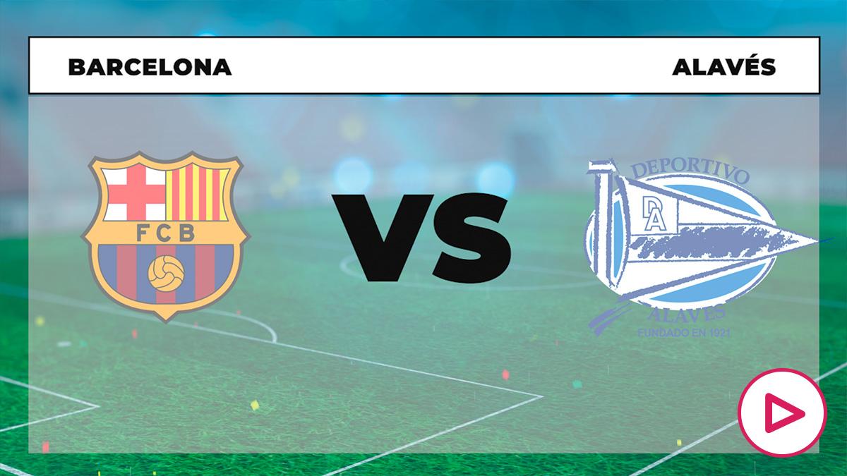 Liga Santander 2020-2021: Barcelona – Alavés | Horario del partido de la Liga Santander.