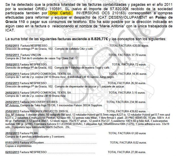 Un socio de Roures desvió fondos de TV3 para amueblar el despacho del jefe de gabinete de Artur Mas