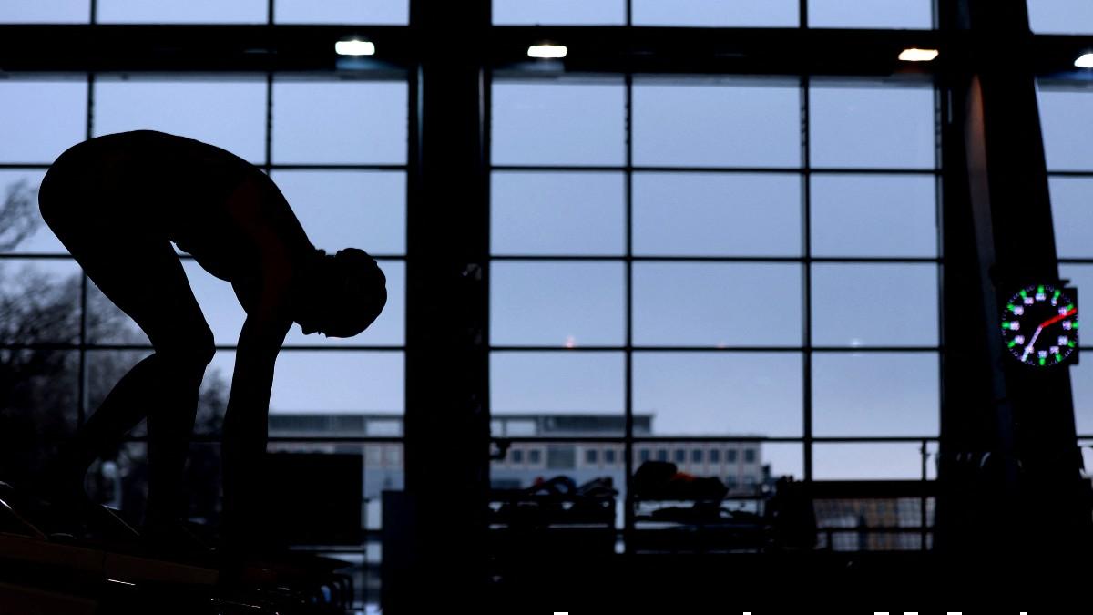 Una nadadora, en una imagen de archivo. (AFP)