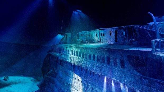 Titanic fondo del mar