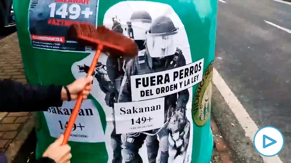 Sortu convoca una manifestación en Navarra para pedir la expulsión de la Guardia Civil.