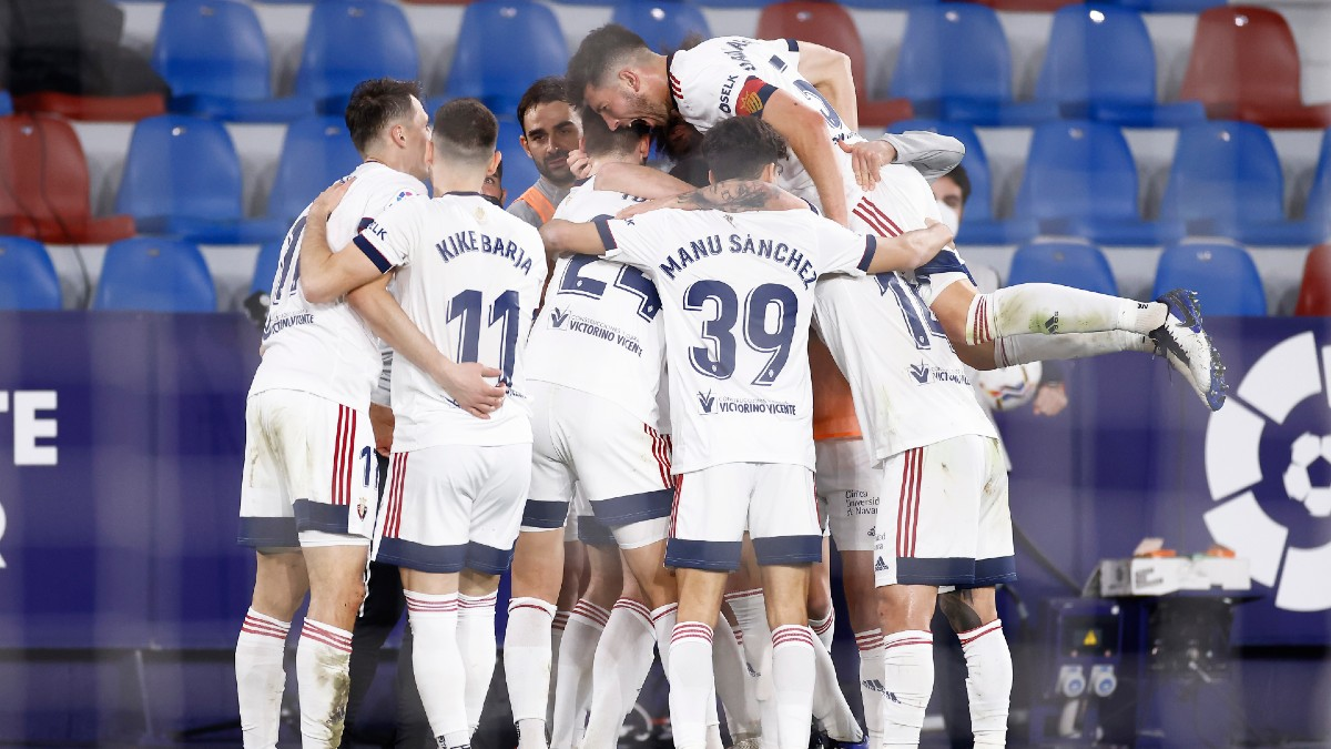 Levante 0 – 1 Osasuna. (Getty)