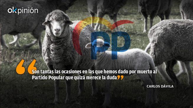 La derecha, si es más tonta, nace oveja