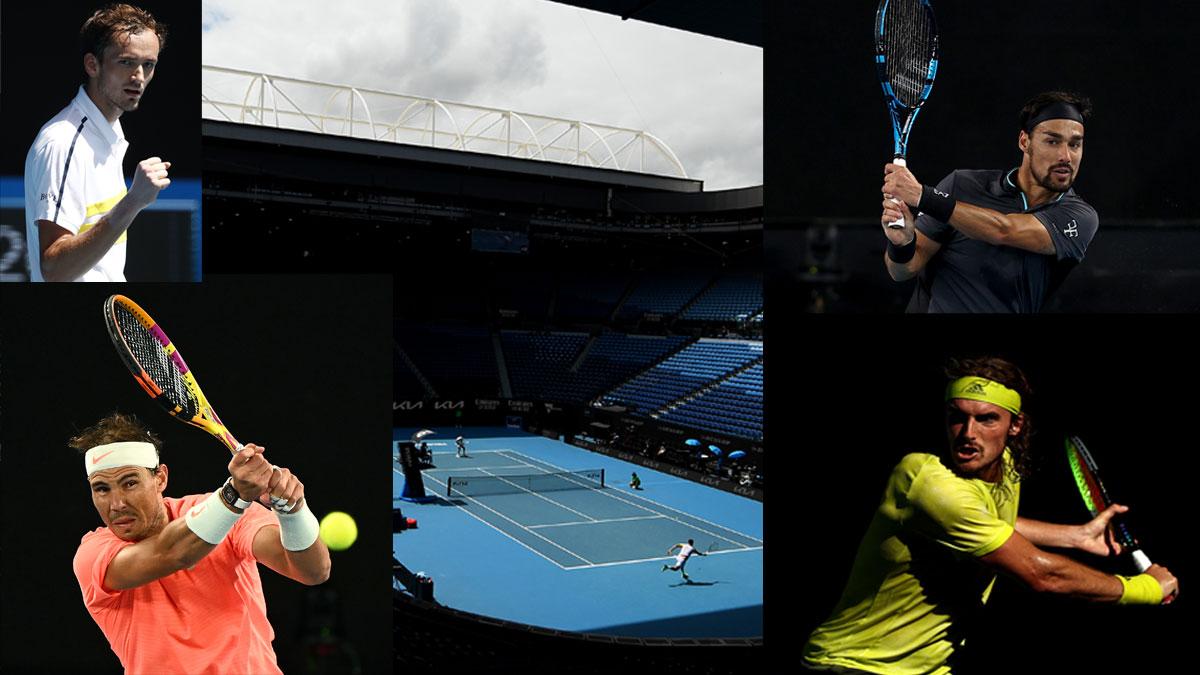 Open Australia: partidos hoy lunes 15 de febrero