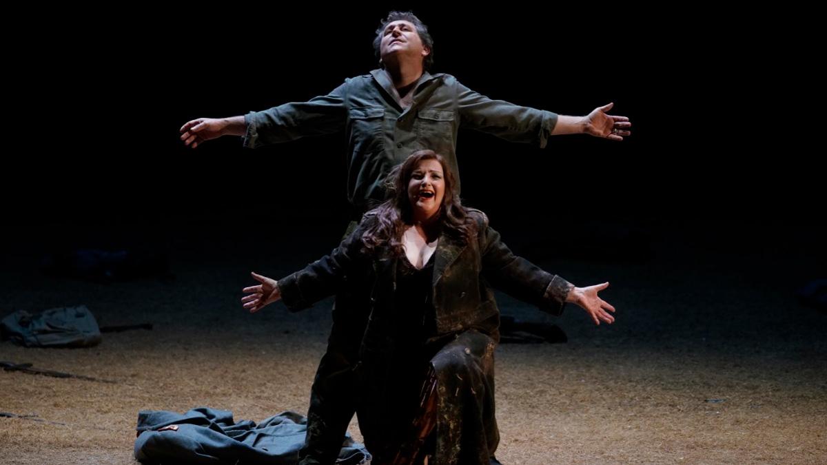 Ensayo de 'Sigfried' en el Teatro Real.