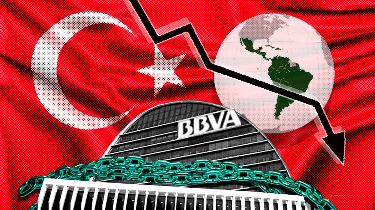 Turquía e Hispanoamérica lastran al BBVA