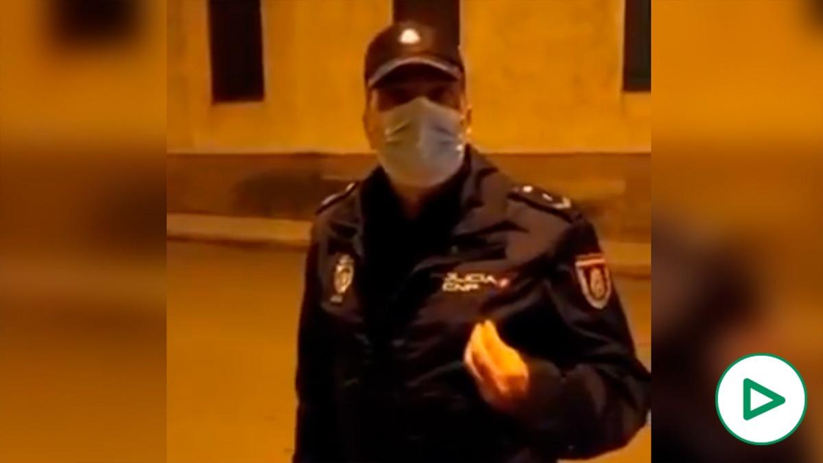 Policía condena la agresión en Linares.