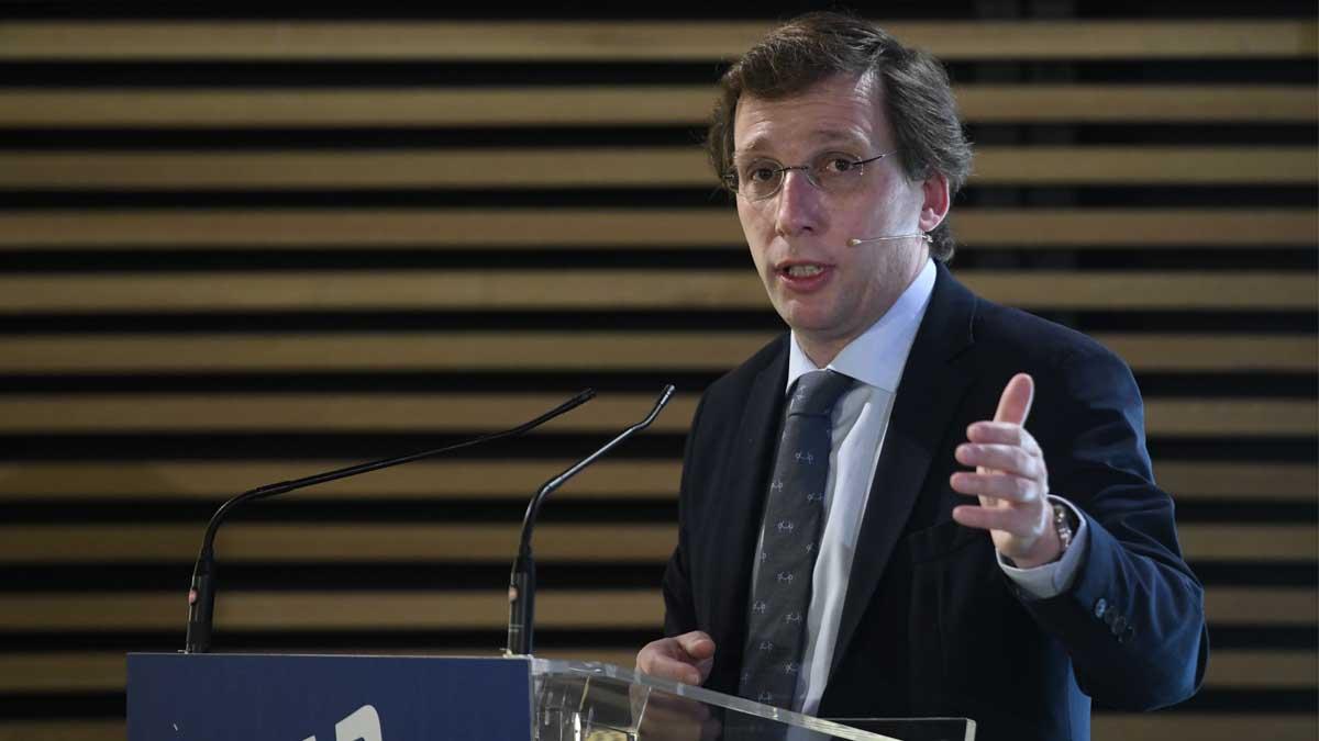 El alcalde de Madrid, José Luis Martínez-Almeida. Foto. Europa Press
