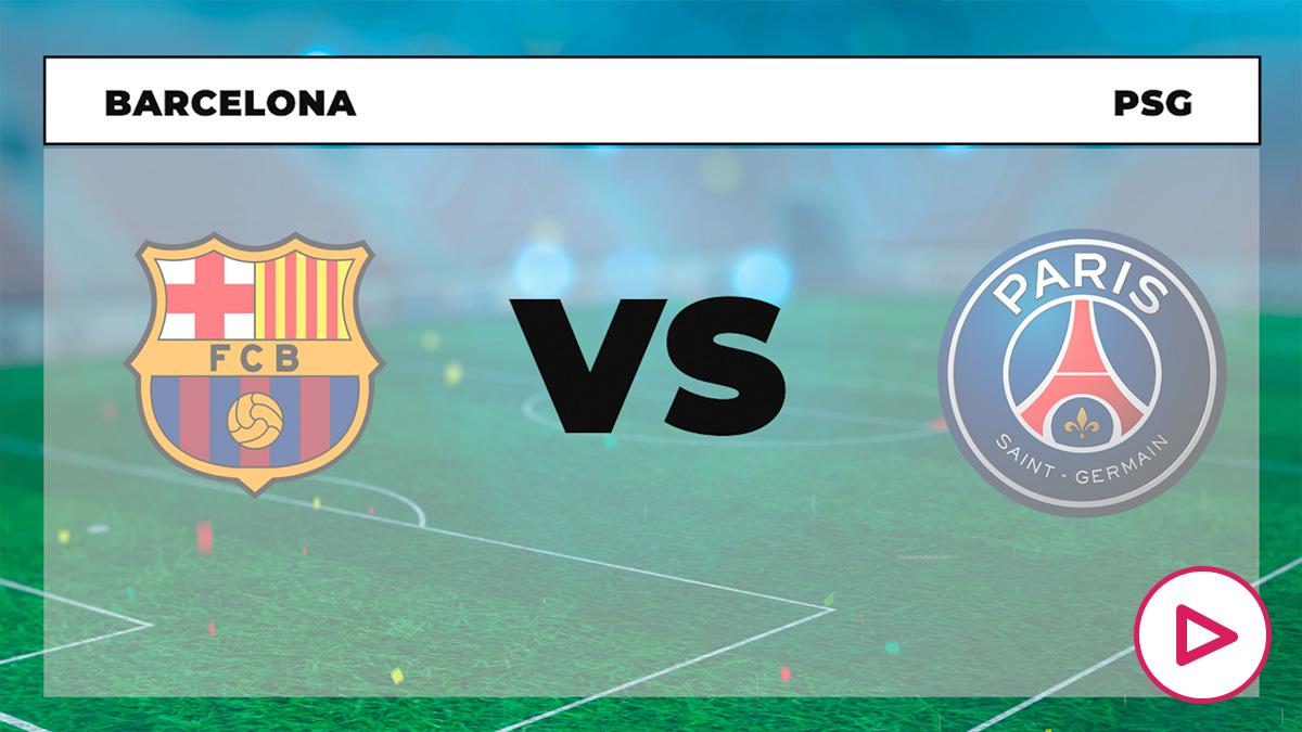 Barcelona – PSG: ida de los octavos de la Champions League.