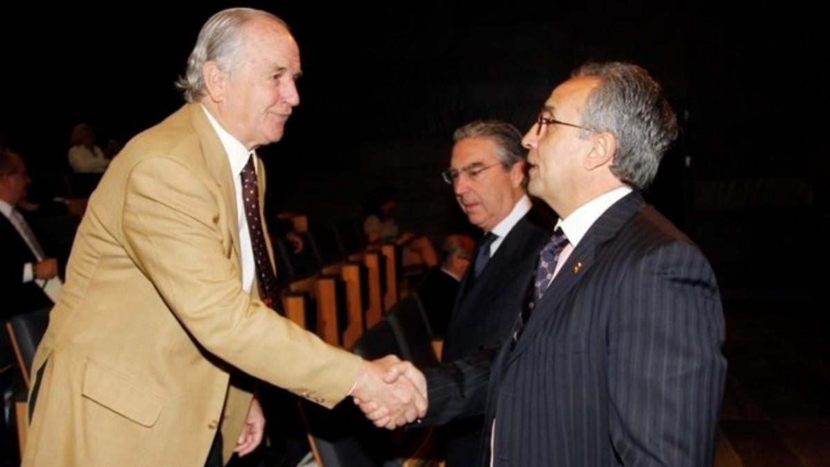 José María Echevarría y Alejandro Blanco.