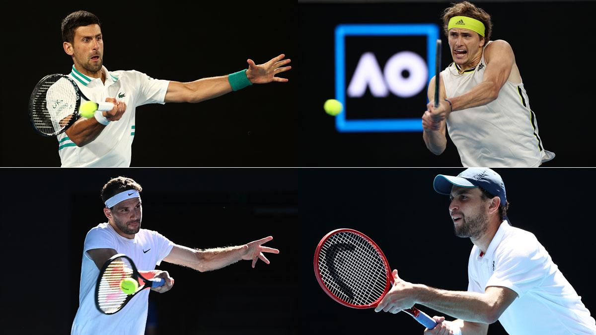 Open Australia: partidos martes 16 de febrero