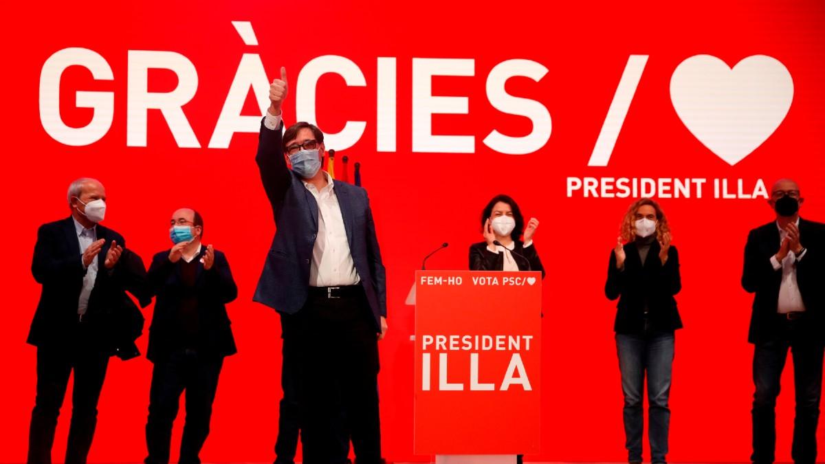 El dirigente del PSC Salvador Illa,. (Foto: Efe)