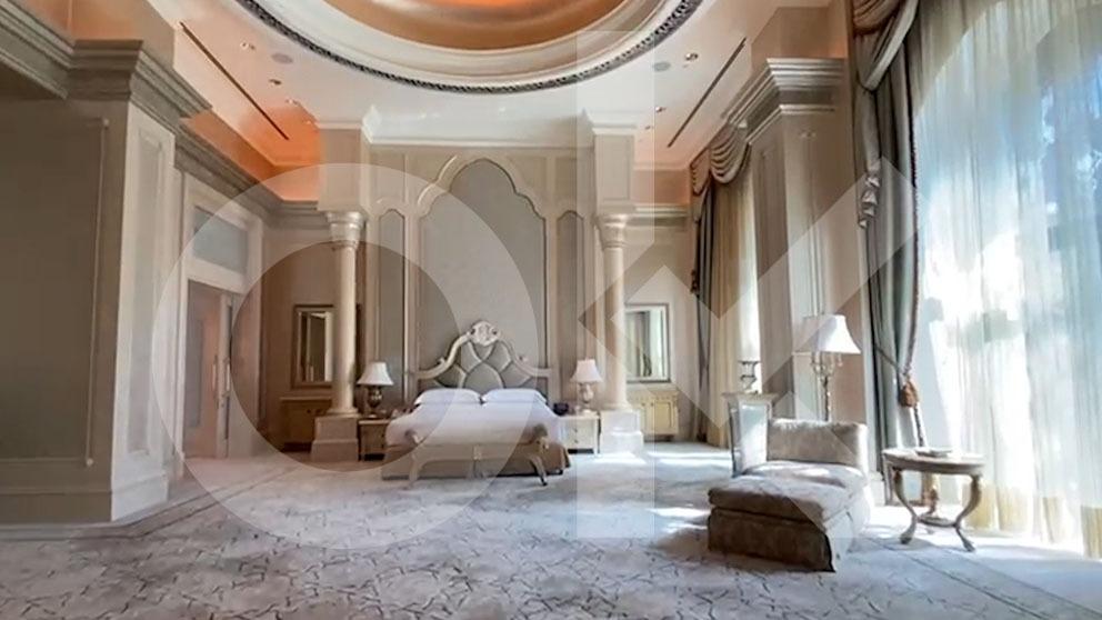 Ésta es la suite exacta de superlujo donde el Rey emérito se alojó durante 4 meses a 11.000 € la noche