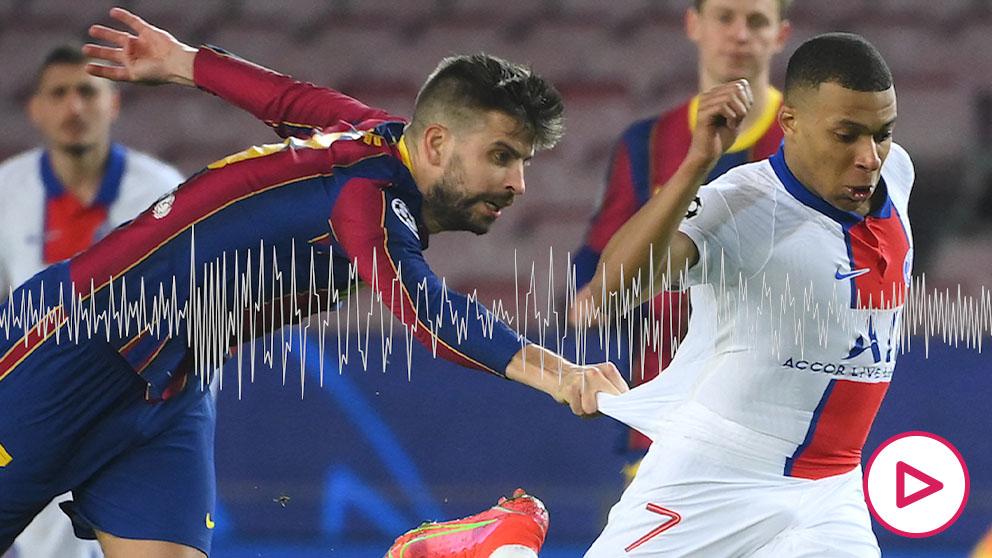 Piqué reventó contra Griezmann.