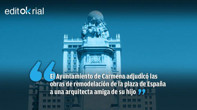 Un caso de nepotismo más grande que la Plaza de España