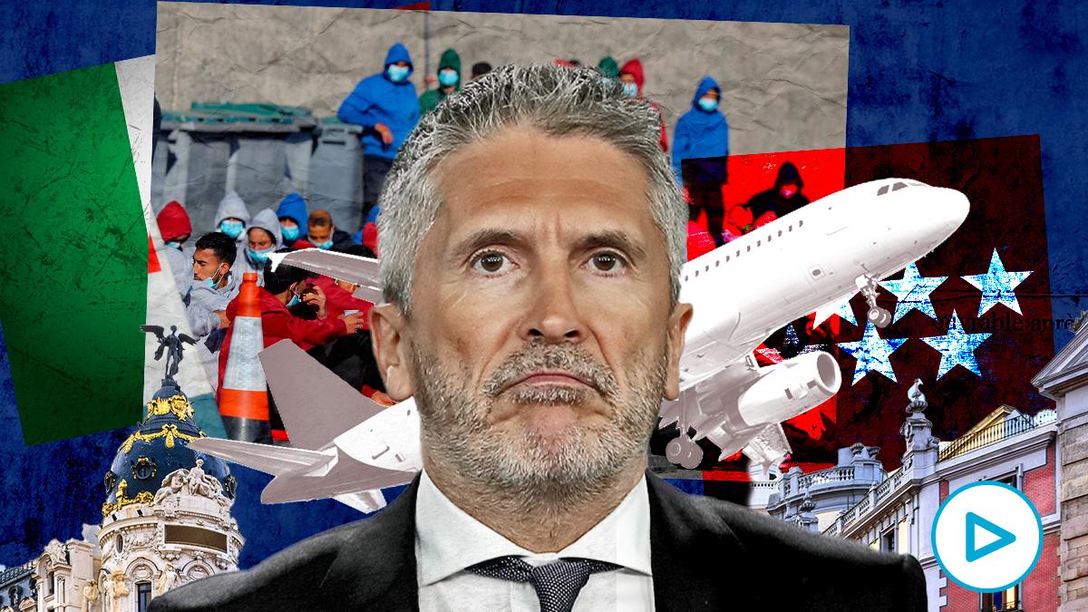 El Gobierno reconoce que Italia devuelve a España inmigrantes de Canarias y en Madrid los deja libres