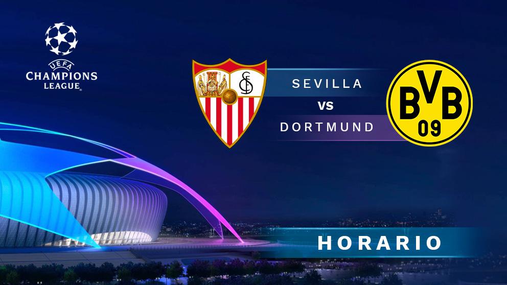 Sevilla – Dortmund: octavos de final de la Champions League.