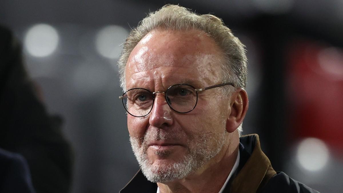 Karl-Heinz Rummenigge, consejero delegado del Bayern de Múnich. (Getty)