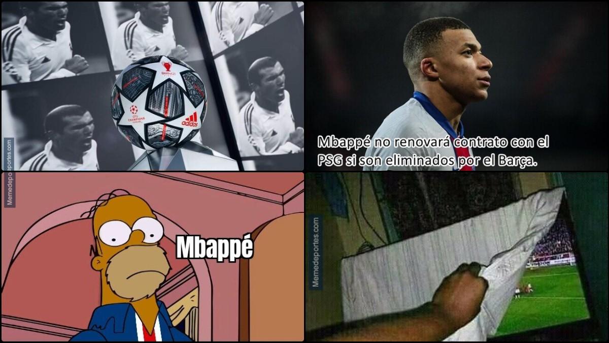 Los mejores memes del Barcelona – PSG.