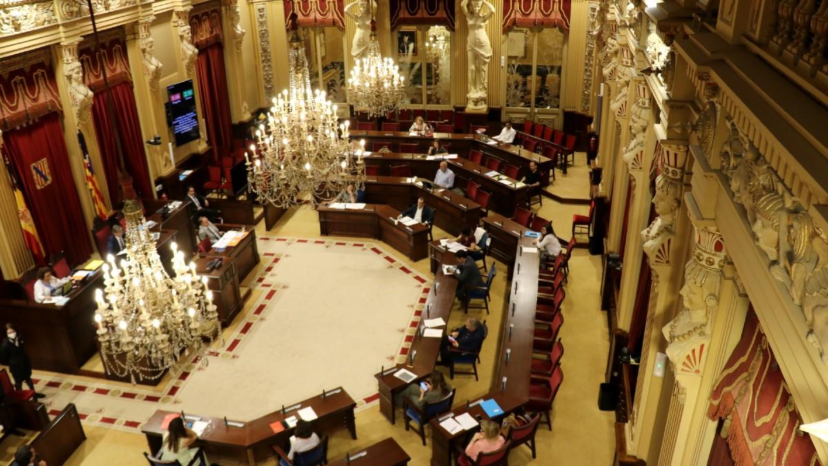El pleno del Parlament de Baleares. (Foto: Europa Press)