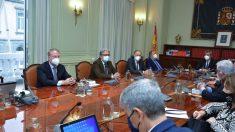 Reunión del CGPJ, el Consejo General del Poder Judicial. (Foto: Archivo)