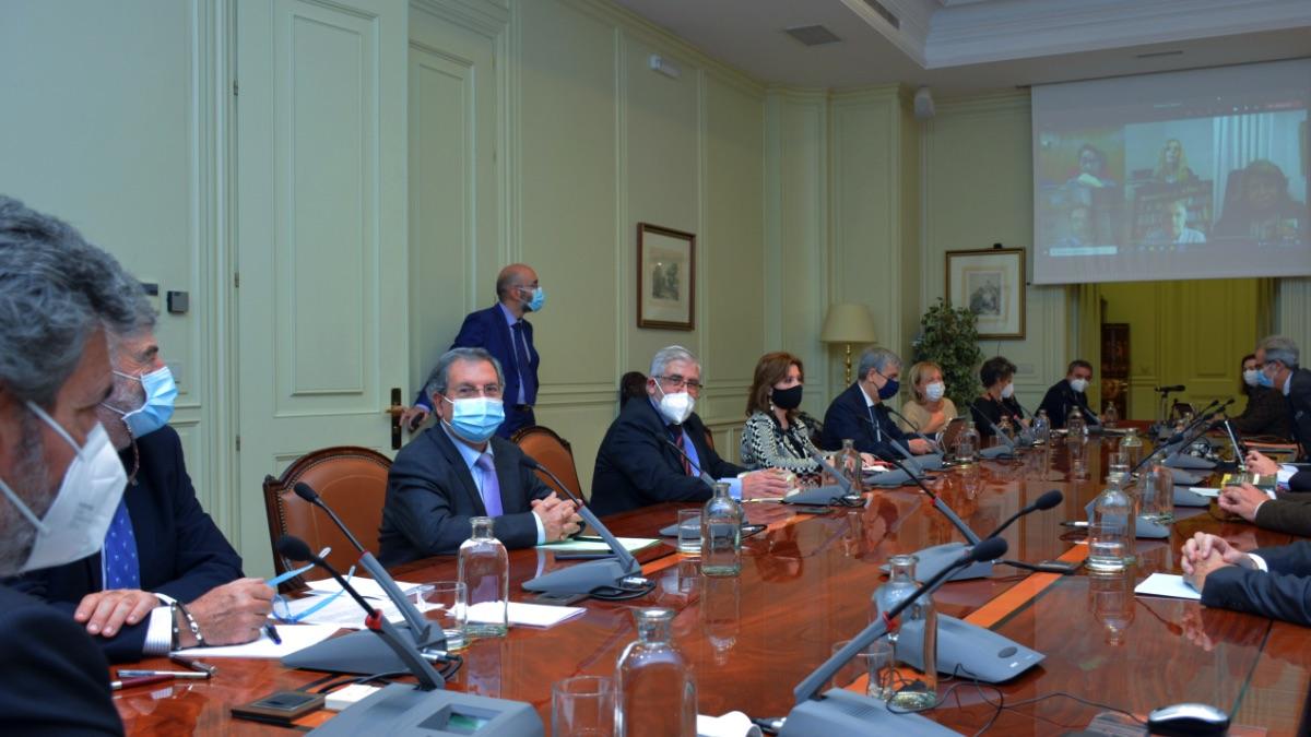 Reunión del Consejo General del Poder Judicial (CGPJ). (Foto: Archivo)