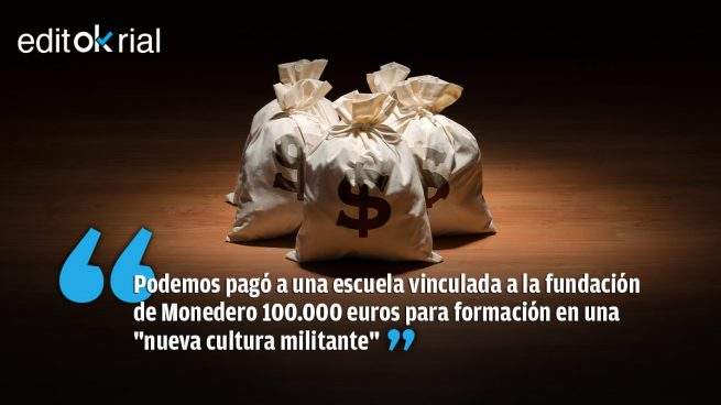 Monedero, Podemos y el saqueo de lo público