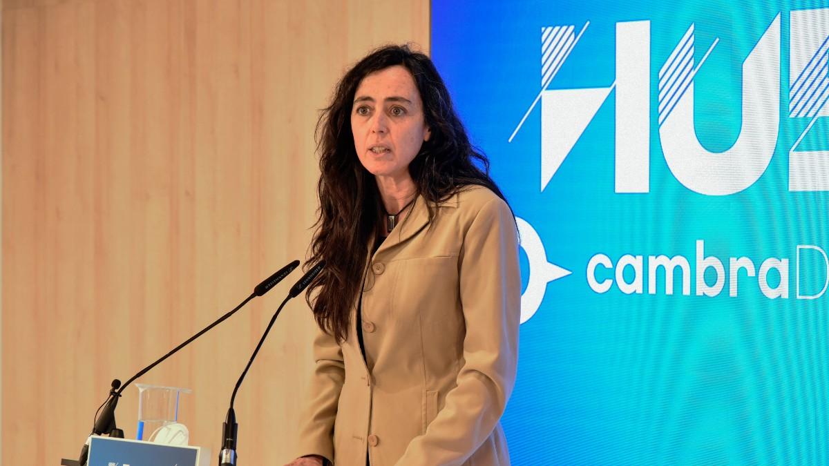 La vicepresidenta primera de la Cámara de Barcelona, Mónica Roca,