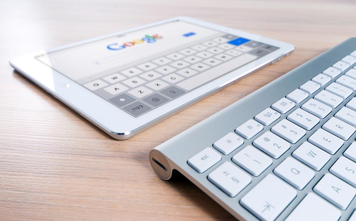 iPad y teclado