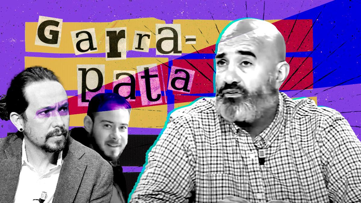 Pablo Iglesias y Miguel Frontera