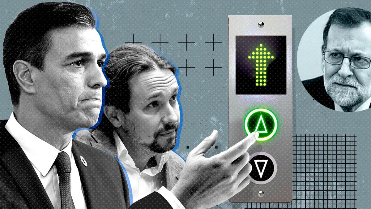 Pedro Sánchez y Pablo Iglesias, presidente y vicepresidente cuarto del Gobierno, respectivamente.