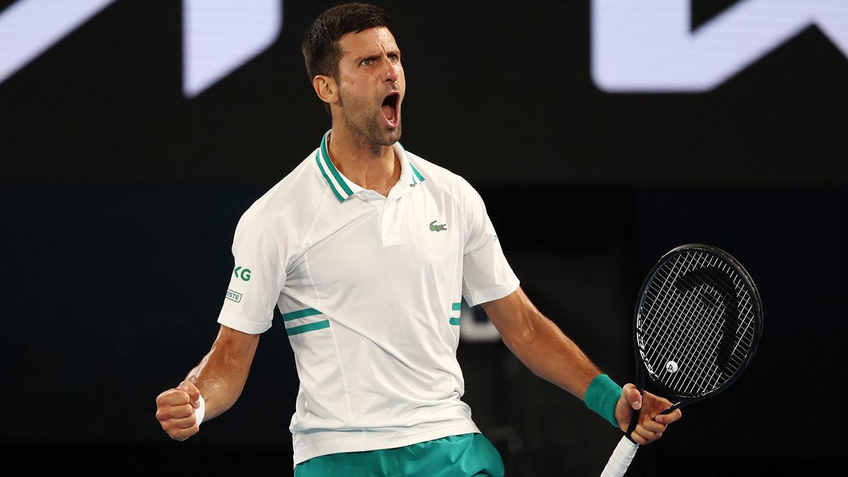 Djokovic accede a la final del Open de Australia