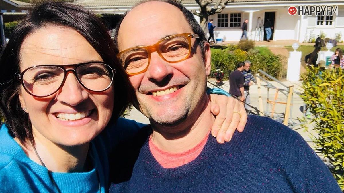 Jordi Sánchez y Silvia Abril