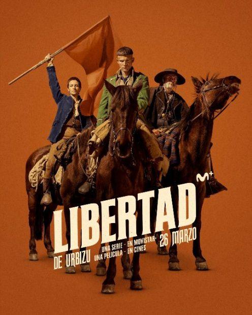 'Libertad': Enrique Urbizu y sus bandoleros llegan a Movistar+