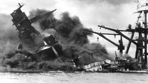 Ataque a Pearl Harbor en la II Guerra Mundial