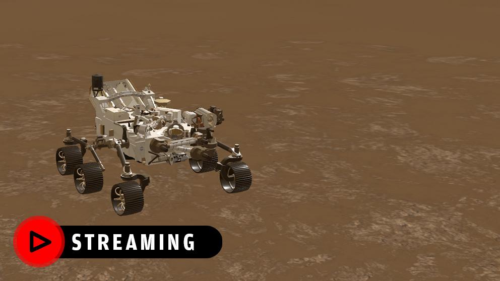 El Perseverance ha aterrizado con éxito en Marte.