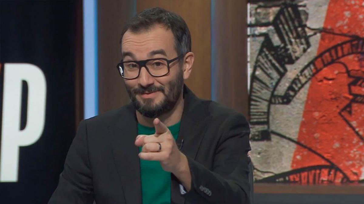 El escritor y guionista Jair Domínguez