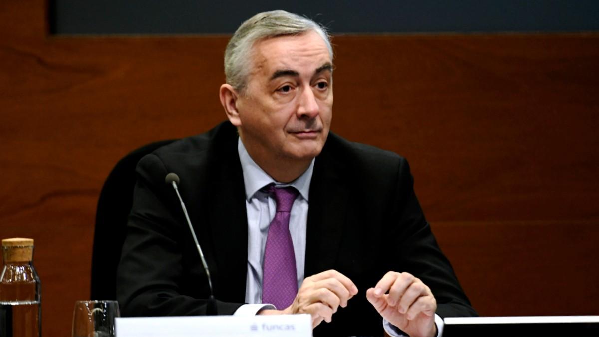 El director general de Funcas, Carlos Ocaña,
