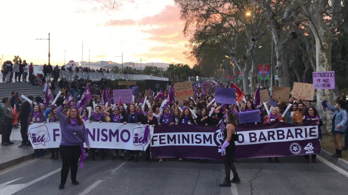 Manifestación 25N (Foto: IU).