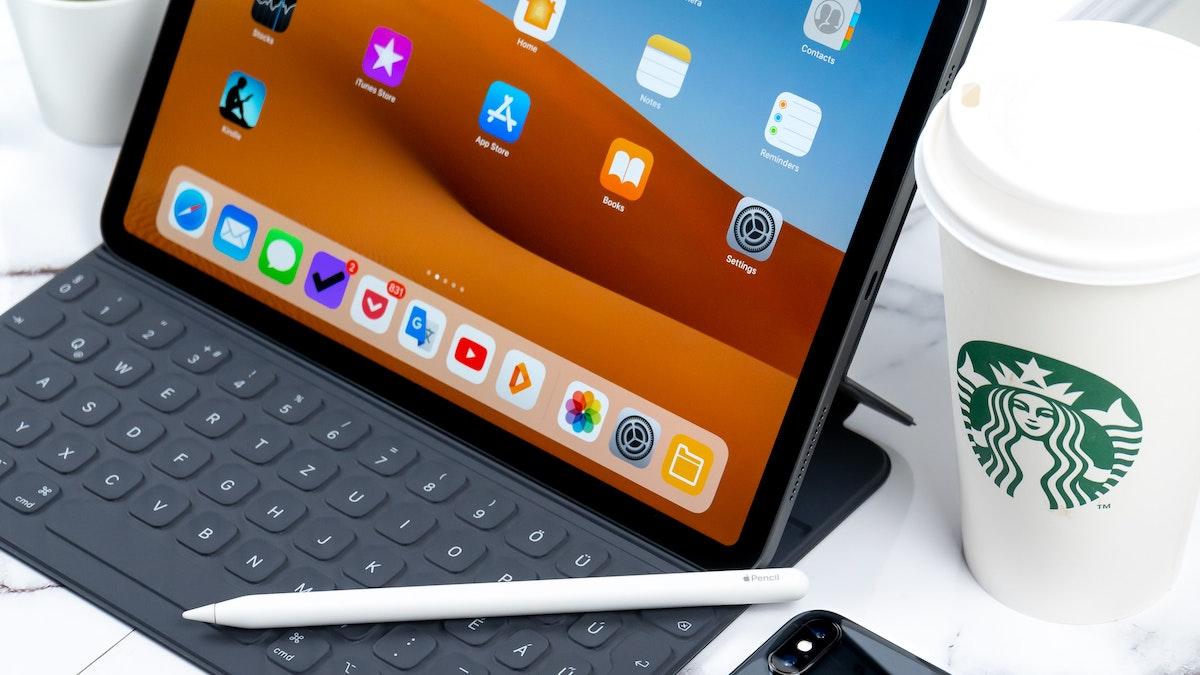 iPad con teclado