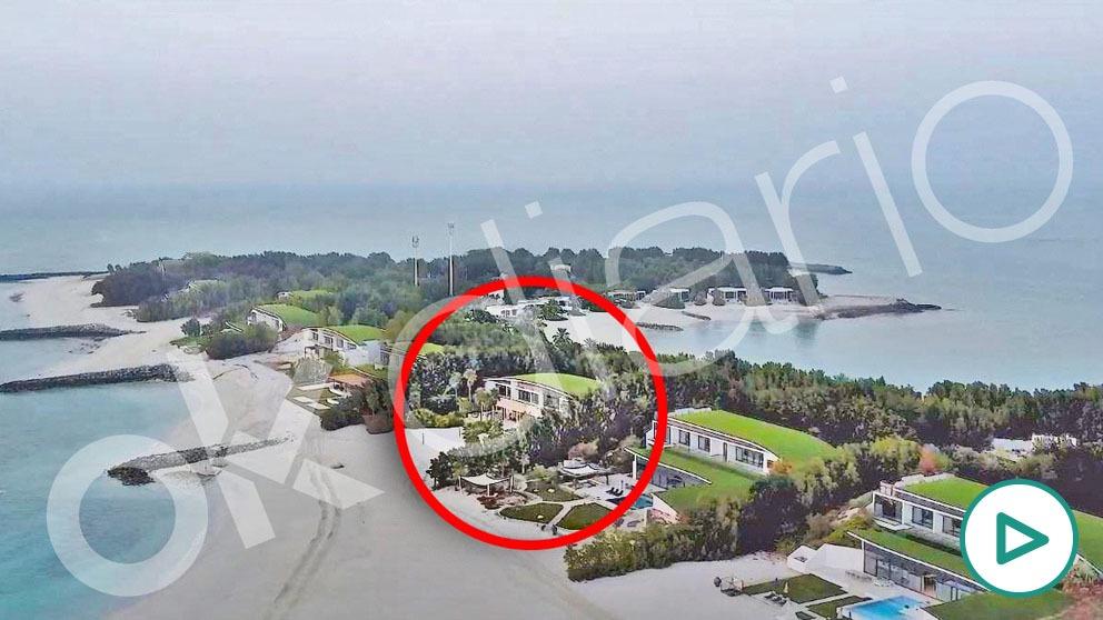 Ubicación exacta de la mansión en la que se aloja el Rey emérito Juan Carlos I en la isla de Zaya Nurai.