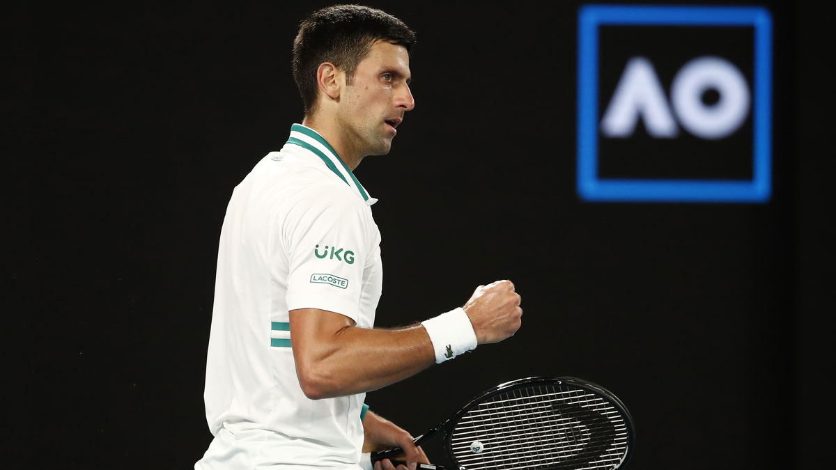 Djokovic vuelve a triunfar en el Open de Australia (Getty)