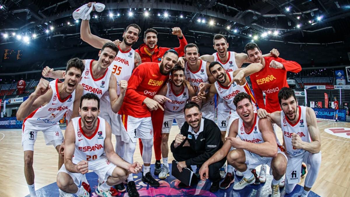 La selección española sigue imparable. (FIBA)