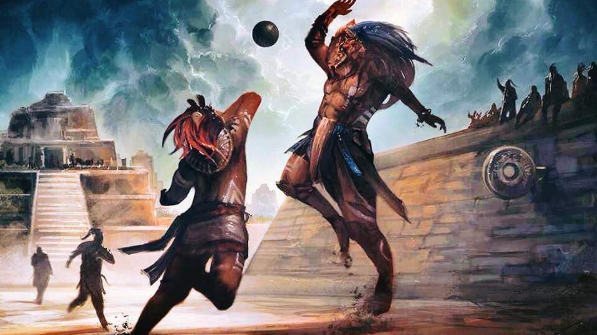 El juego de la pelota de los mayas