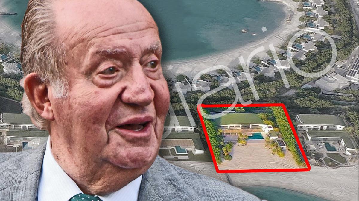 La mansión en la que el Rey emérito Juan Carlos I se aloja actualmente en la isla de Zaya Nurai.